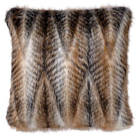 Faux Fur Chevron Pillow ,  , large