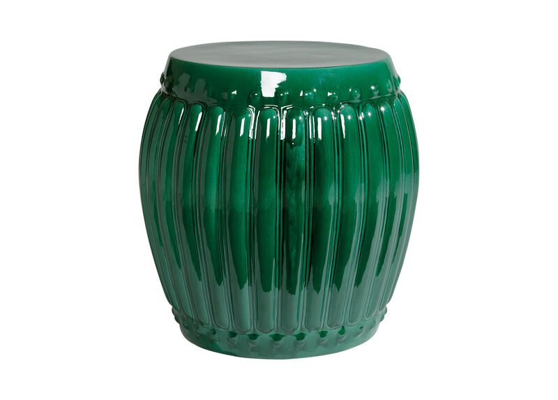Emerald Drum Table ,  , large_gray