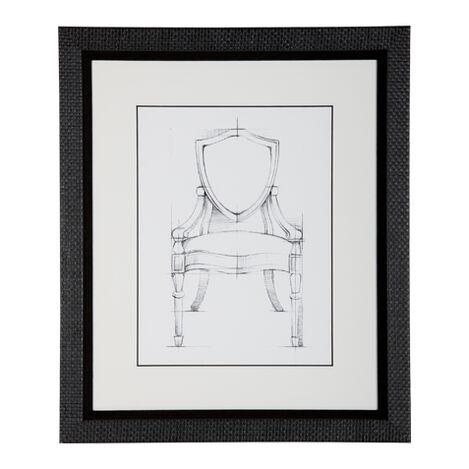 Historic Chair Sketch IX ,  , large