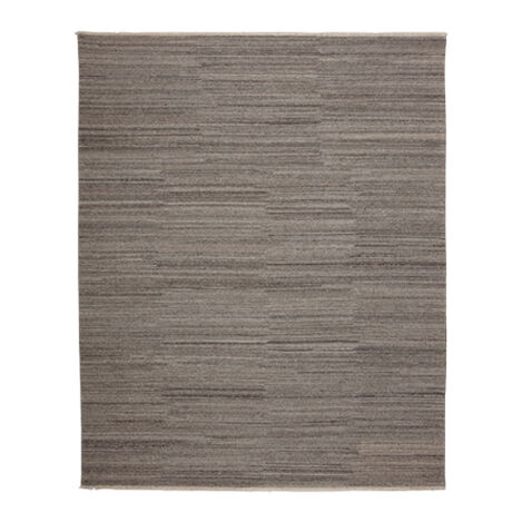 Wool Soumak Rug, Light Gray ,  , large