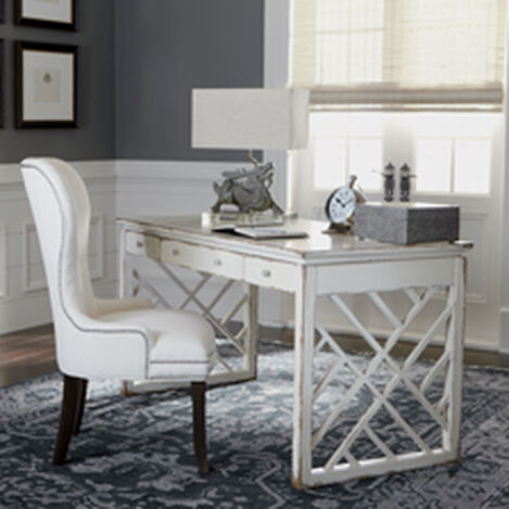shop office desks home office desks ethan allen canada ethan allen. Black Bedroom Furniture Sets. Home Design Ideas
