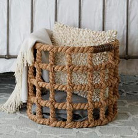 Bailey Island Floor Basket ,  , hover_image