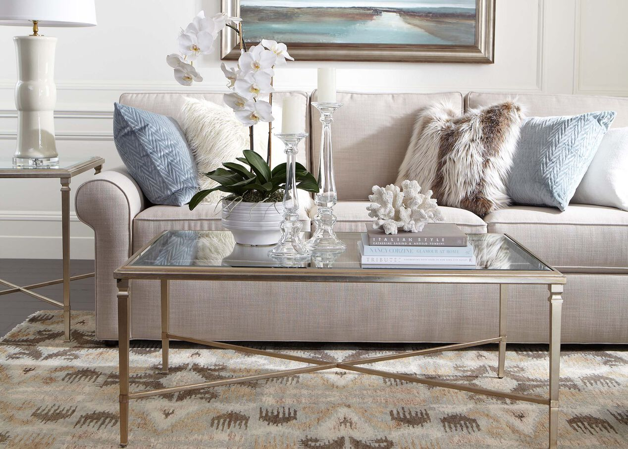 Rectangular Heron Coffee Table Coffee Tables Ethan Allen