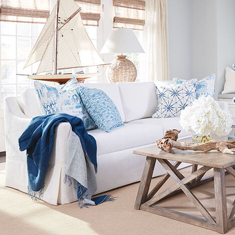 Monterey Skirted Sofa Product Tile Hover Image monterey