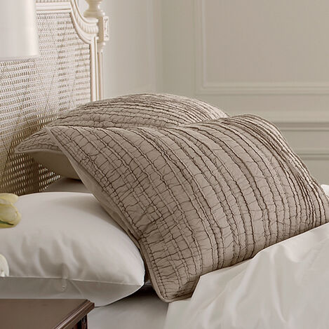 Josette Voile Quilted Sham ,  , large