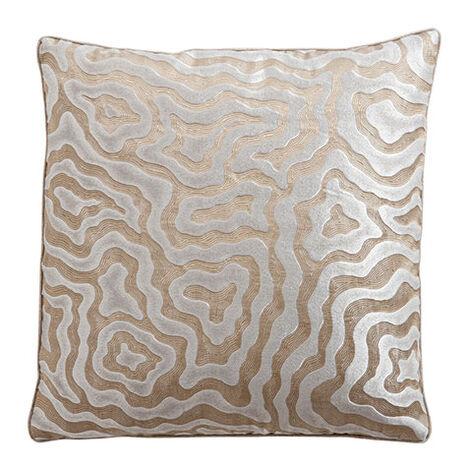 Wavy Jacquard Metallic Pillow ,  , large