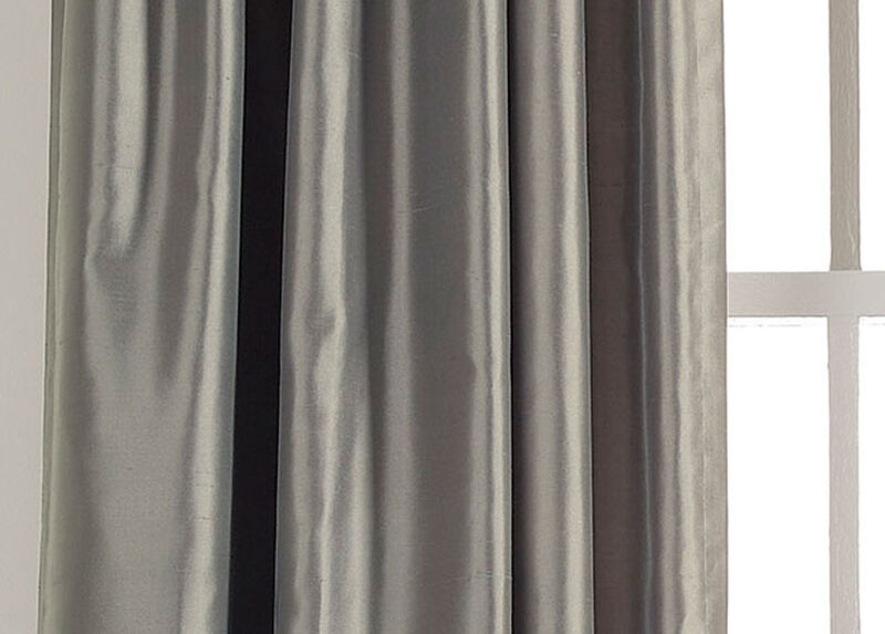 Mineral Satin Dupioni Fabric by the Yard