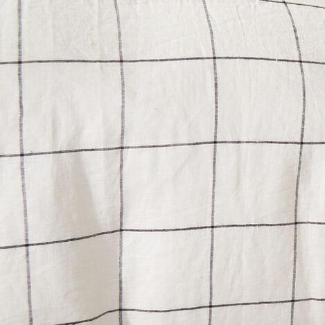 Linen Windowpane Duvet Cover and Sham Product Tile Hover Image linenwindowpane