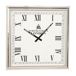Nickel Square Wall Clock ,  , large