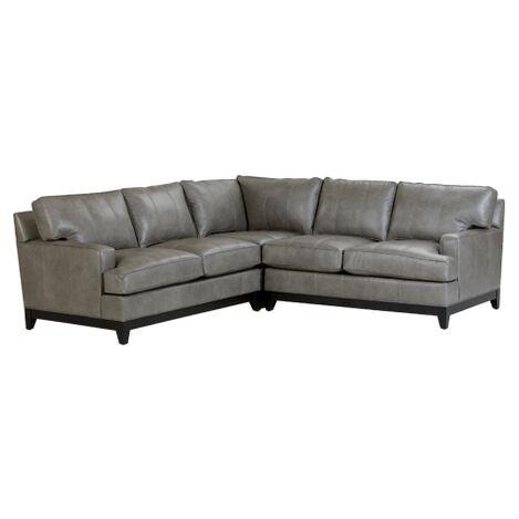 Arcata Leather Sectional ,  , large