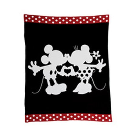 Mickey and Minnie Mouse Perfect Pair Knit Throw ,  , hover_image
