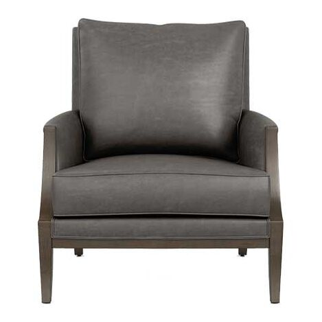 Grayson Leather Lounge Chair Product Tile Image 717031