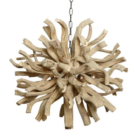 Large Minetto Wood Pendant ,  , large