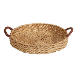 Apina Seagrass Round Tray Recommended Product