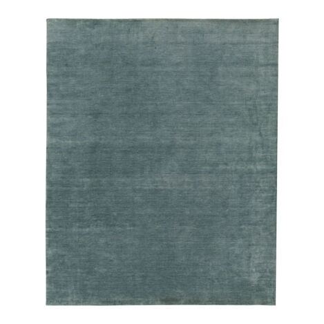"Loomed Wool Rug 5'6"" x 9'9"", Seafoam Product Tile Image 041261H"