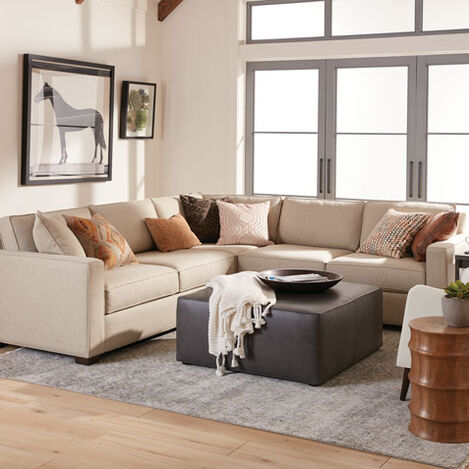 Spencer Three-Piece Track-Arm Sectional Product Tile Hover Image SpencerTA3P