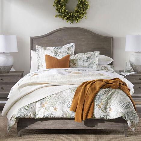 Clermont Bed with Arched Wooden Headboard Product Tile Hover Image 225620