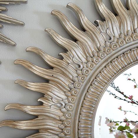 "43"" Silver Sunburst Mirror Product Tile Hover Image 074370"