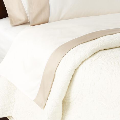 Hayden Fitted Sheets, Ivory ,  , large