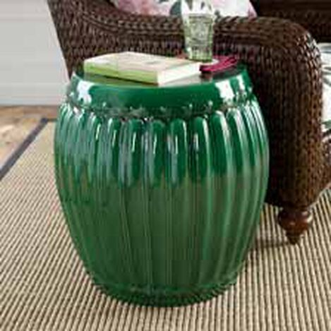 Emerald Drum Table ,  , hover_image