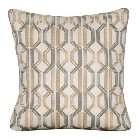 Cruz Rafia Outdoor Pillow ,  , large