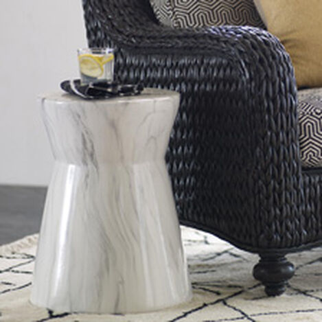 Orson Ceramic Accent Table ,  , hover_image