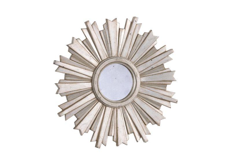 Mini Silver Starburst Mirror ,  , large_gray