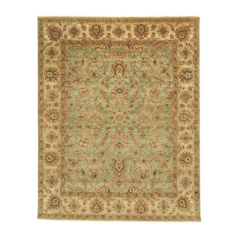 Sarouk Fereghan Rug, Green/Ivory Product Tile Image 041508