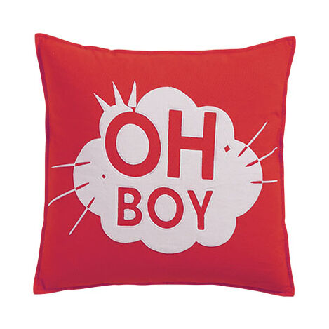 Mickey Mouse Oh Boy Pillow, Mickey's Shorts ,  , large