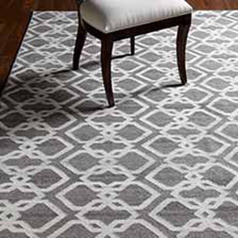 Interlock Rug, Gray/Ivory ,  , hover_image