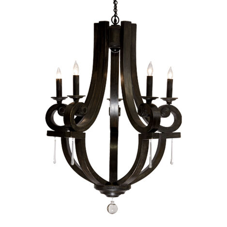 Black Lisi Small Chandelier ,  , large