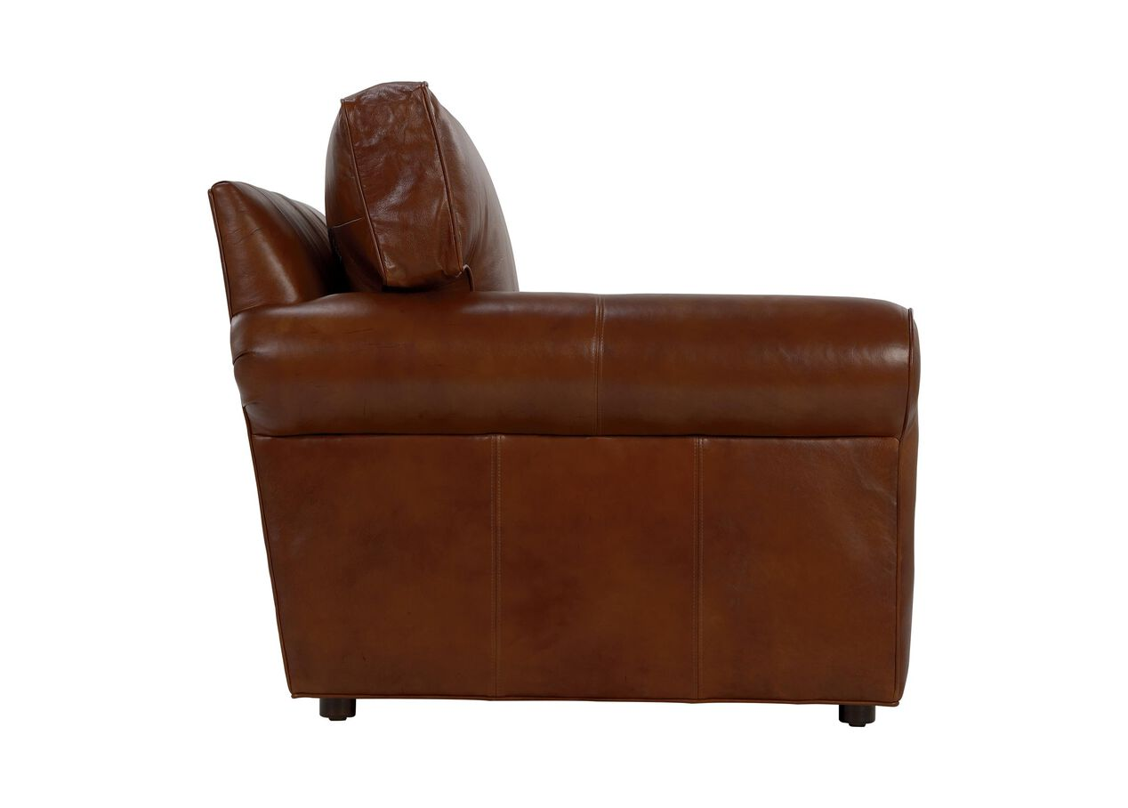 Retreat Roll Arm Leather Sofa Sofas Loveseats ~ Rolled Arm Leather Sofa