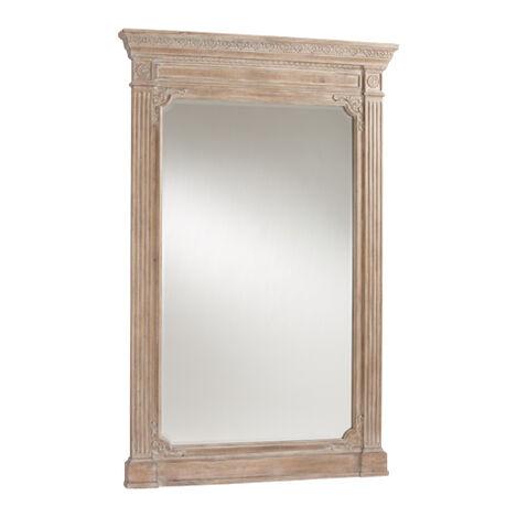 Aged Oak Madeleine Trumeau Floor Mirror Product Tile Image 074502D