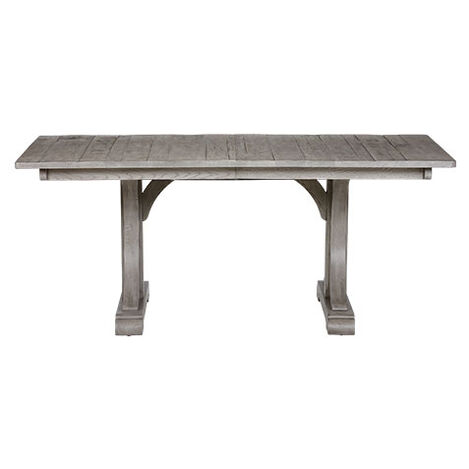 Corin Rough-Sawn Trestle Extension Dining Table Product Tile Image 356314