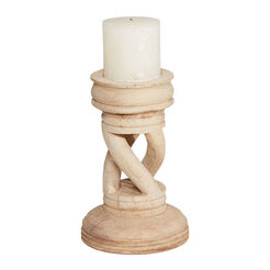 Spiral Wood Candlestick Recommended Product
