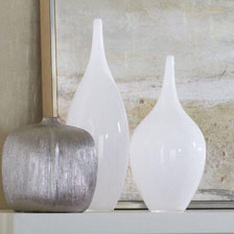 White Glass Goddess Vases Product Tile Hover Image 432060