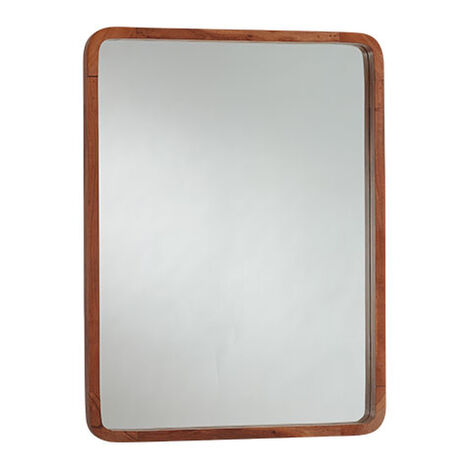 Hudson Wooden Wall Mirror Product Tile Image 074121