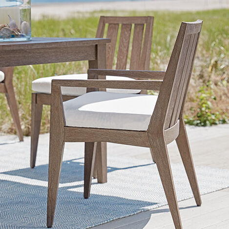 Bridgewater Cove Teak Dining Armchair Product Tile Hover Image 404060