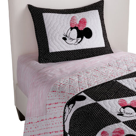 Mad About Minnie Quilt and Sham ,  , large