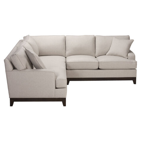 arcata three piece sectional quick ship - Sectionals