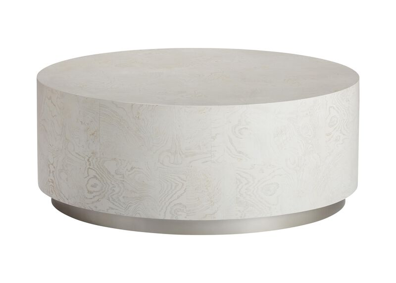 Braemore Round Plinth-Base Coffee Table