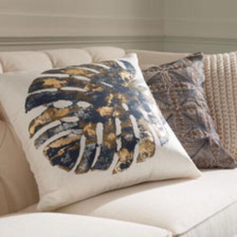 Gilded Leaf Pillow ,  , hover_image