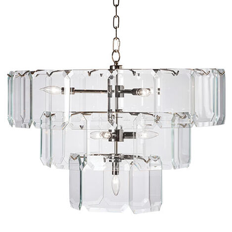 Raija Glass Chandelier Product Tile Image 093626MST