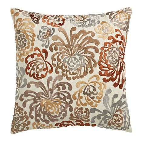 Blooms Embroidered Pillow Product Tile Image 065756