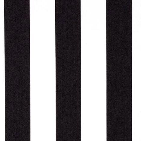 Pop Stripe Mickey's Ears Black Fabric ,  , large