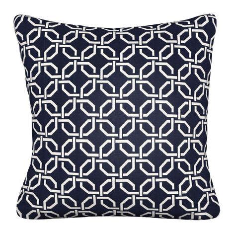Lyle Indigo Outdoor Pillow ,  , large