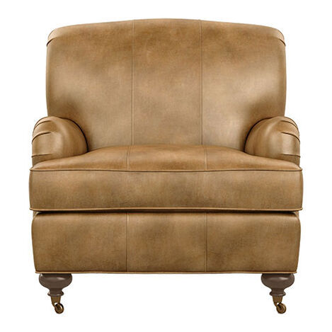 """Oxford Leather Chair, 21"""" depth Product Tile Image 722271"""