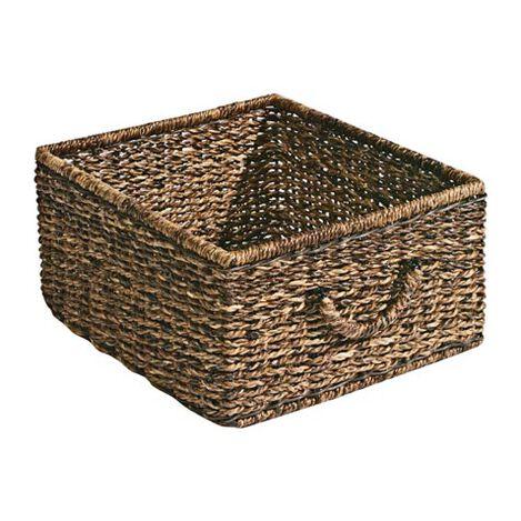 Panier de Rangement en Abaca Sombre Product Tile Image 439833