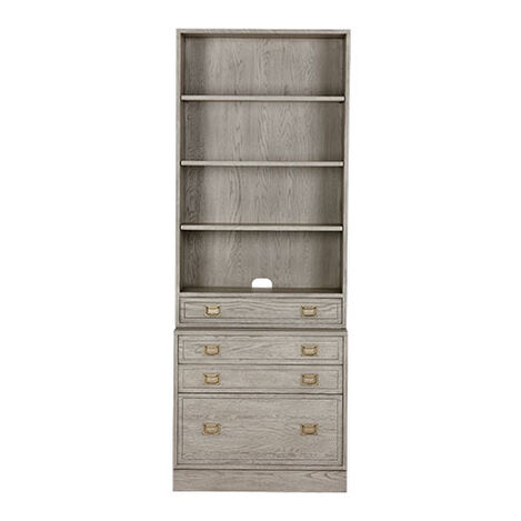 Callum Single File Bookcase ,  , large