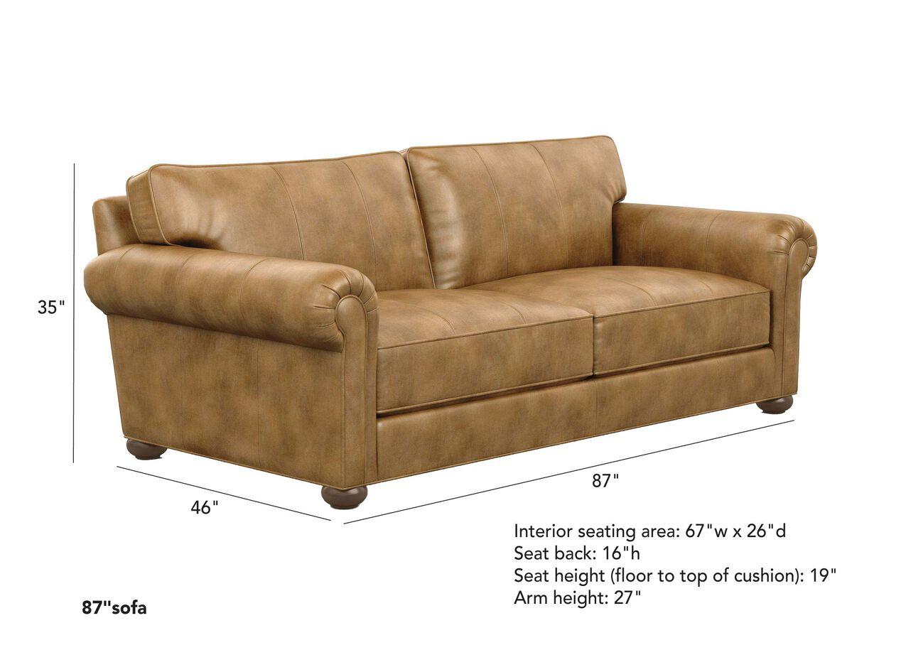Richmond Leather Sofa | Sofas & Loveseats | Ethan Allen